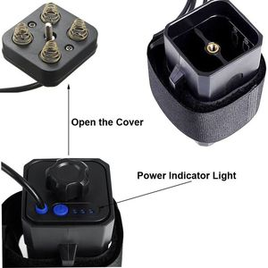 Image 3 - עמיד למים 18650 ליתיום סוללות אחסון מקרה תיבת כיסוי עם USB DC הכפול פלט 8.4V עבור אופני אור פנס טלפון סלולרי