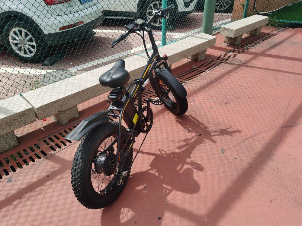 Electric Mountain Bike photo review