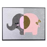 MeterMall Double Side Reversible Sequin Decorative Frame 30X40CM
