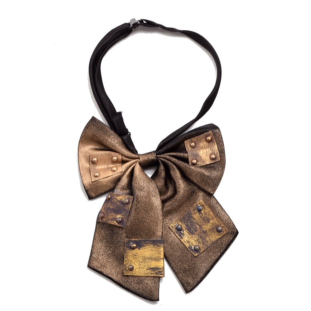 Victorian Bow Tie Unisex Vintage Steampunk Bowtie Industrial  Bowknot Costume Accessory