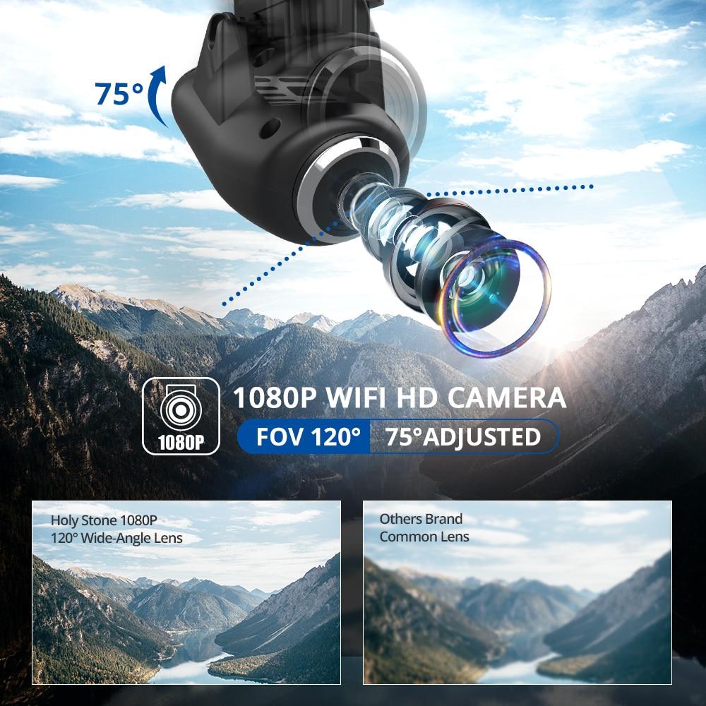 Quadcopter GPS Camera Gps-Drone Selfie Holy-Stone Follow FPV HS120D 1080p Profissional-Wifi