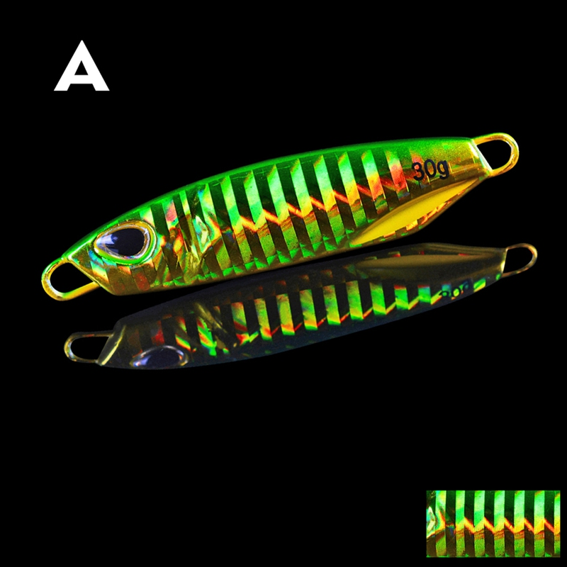Fishing Lure Artificial Bait Without Hooks Reusable Metal Sinking Casting Lure Jigging Spoon Fishing Supplies10/15/20/30/40/50g