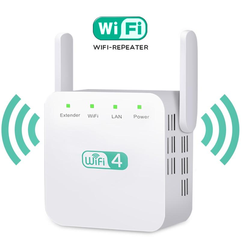 Wireless WiFi Repeater WiFi Extender Antenna WiFi Booster 2.4G Wi Fi Amplifier Long Range Signal Wi-Fi Repiter Wlan Repeater