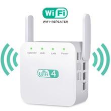 Wireless WiFi Repeater WiFi Extender Antenna WiFi Booster 2.4G Wi Fi Amplifier Long Range Signal Wi-Fi Repiter Wlan Repeater недорого