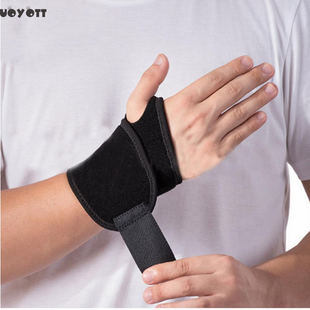 Adjustable Hand Safety Wrist Brace Orthosis  Nylon Medical Wrist Protector Supports Brace Lengthen Bandage Hand Wrist Protectors