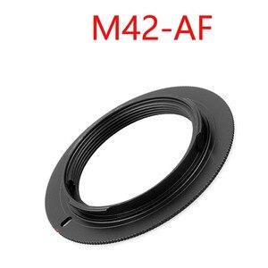 Image 3 - 10 sztuk/partia dla M42 EOS M42 AI M42 AF M42 PK M42 NEX aluminium M42 śruba do mocowania obiektywu adapter do canona Nikon Sony pentax camera obiektyw