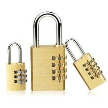 Чехол для шкафчика из меди и нержавеющей стали, высококачественный замок из латуни, комбинированный пароль, секретный код для тренажерного зала