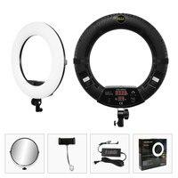 96W Yidoblo FD 480II white / Pink / Black Photo Ring Light LED Video Lamp Photographic Studio Lighting 5500K 480 LED Lights