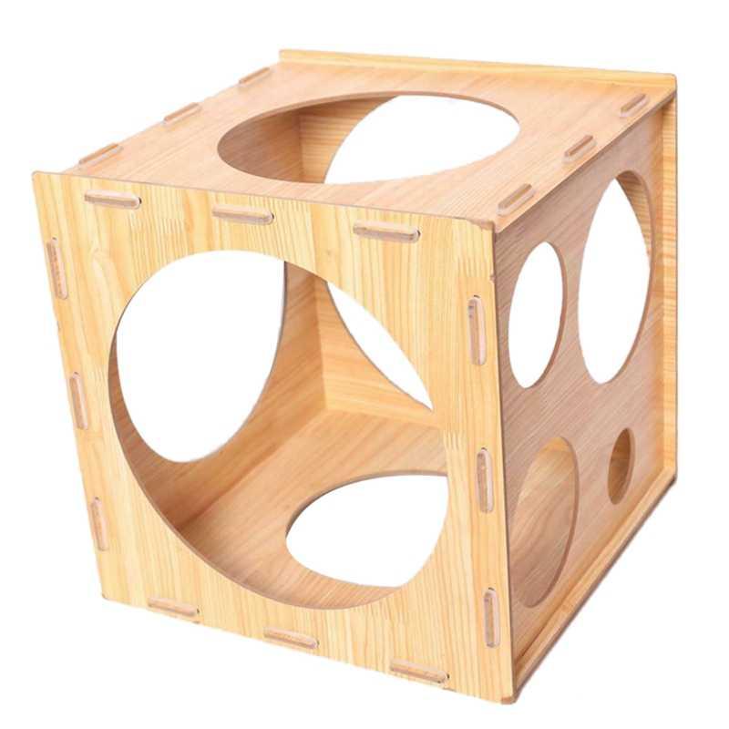 9 穴折りたたみバルーンサイザーボックス測定ツール安定した 2-10 インチのための