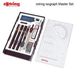 ROtring Master, conjunto de bolígrafos de diseño de dibujo, Isograph, para jóvenes, 1 juego/lote