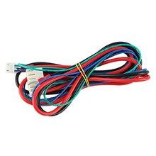 Замена Anet A6/A8 линия горячей кровати/кабель Модернизированный MK2A/MK2B/MK3 для Mendel I3 Anet A8 3d принтер с подогревом кровать кабель-SCL