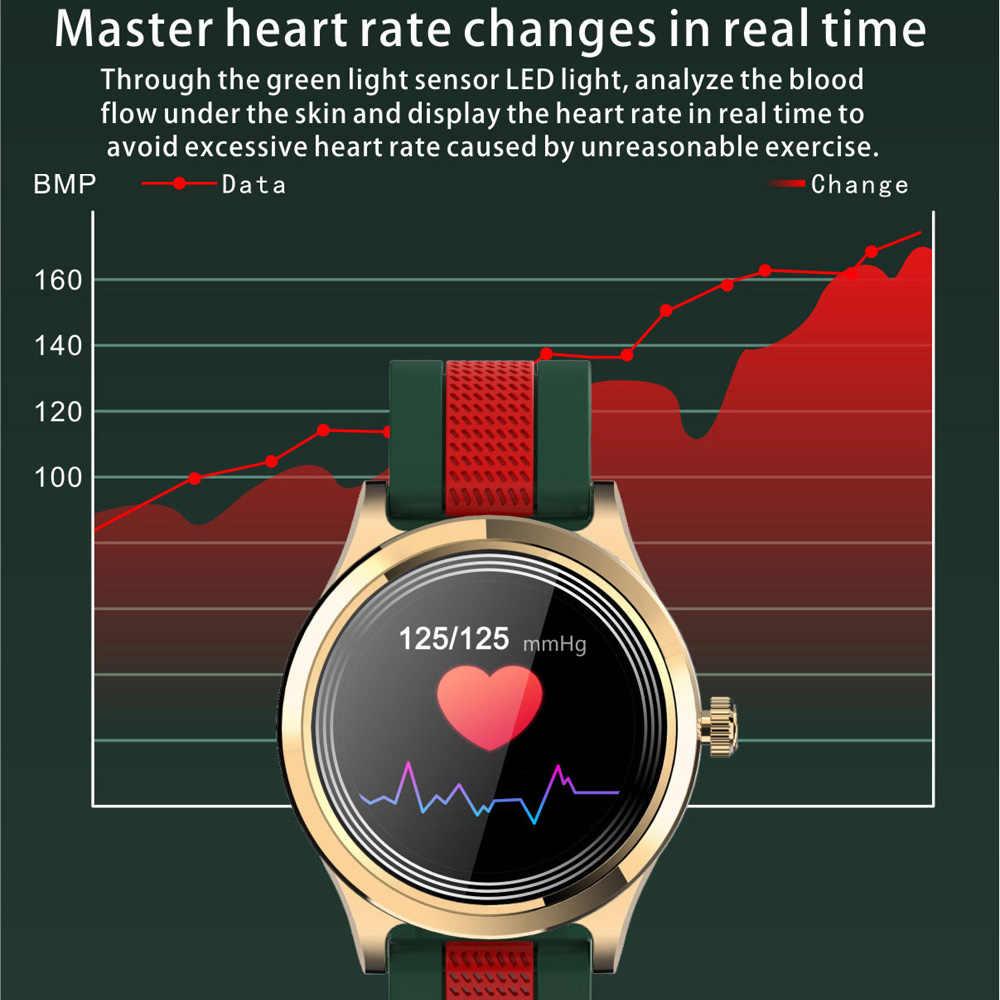 PE6 สมาร์ทนาฬิกาผู้ชายผู้หญิงกันน้ำIP68 แสดงสภาพอากาศแฟชั่นSmartwatch Pedometer Heart Rateกีฬานาฬิกา