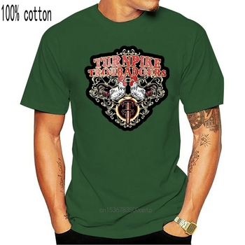 Turnpike Troubadours T-Shirt Country Music Band Mens Medium Cotton Tee Shirt Summer O Neck Tops image