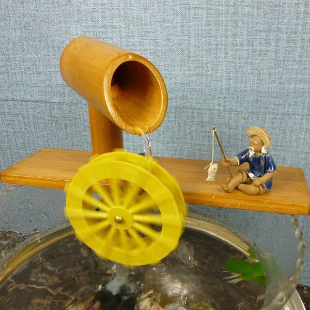 Venta Barata Bambú Escritorio Mini Fuente De Agua