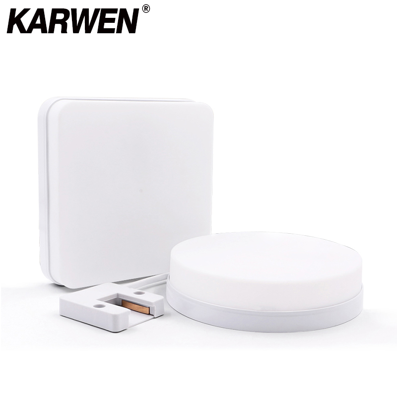 KARWEN 18W 24W 36W 48W LED Round Panel Light 85-265V Surface Mounted Leds Square Ceiling Down Lampada Led Lamp Light For Bedroom