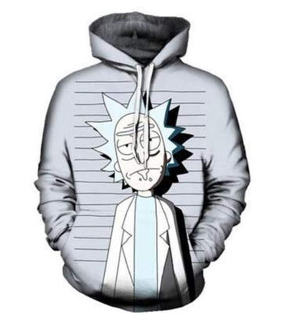 Rick And Morty Hoodie Sweatshirts 3