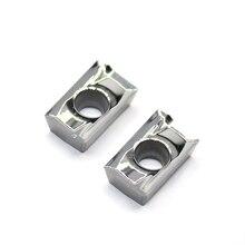 APKT1604 PDFR MA3 H01 100% 원래 알루미늄 합금 블레이드 가공 APKT 1604 알루미늄 삽입 선반 커터 공구 선삭 공구