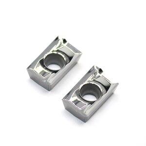 Image 1 - APKT1604 PDFR MA3 H01 100% orijinal alüminyum alaşım bıçak işleme APKT 1604 alüminyum ekler torna kesici aletler dönüm aracı