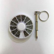 240 peças assorted parafusos porcas mini pequenos tornillos para reparar óculos de olho relógios de telefone sunglass m1 a m1.4