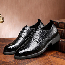 Merkmak Men Shoes Top Quality Oxfords Men Genuine Leather Dress Shoes Business Formal Shoes Men  Plus Size Wedding Party стоимость