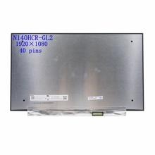 Matriz original da tela do diodo emissor de luz do toque N140HCR-GL2 para o portátil 14.0