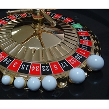 Roulette Ball Game Russian White 5pcs Replacement-Ball Acrylic 12/14/16-/..