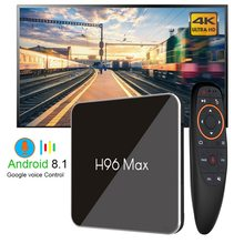 4K Smart TV box H96 MAX X2 Android TV Box 9.0 4GB 64GB S905X2 1080P H.265 4K For Google Store Netflix Youtube H96MAX 2G16G(China)