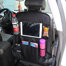 Huihom Car Seat Back Storage Organizer iPad Bag Net Pocket 61*41cm 24*16 Automobile Interior Stowing Tidying Accessories