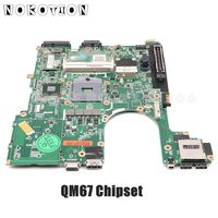 NOKOTION Laptop motherboard para HP Probook 8560B 6560B PLACA PRINCIPAL 646964 001 QM67 UMA HD DDR3 teste completo Placa-mãe para notebook     -