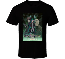 New Ghost In The Shell Stand Alone Anime Tv Show Poster Men's T-Shirt Size S 2Xl Tops Tee Shirt Summer O Neck(China)