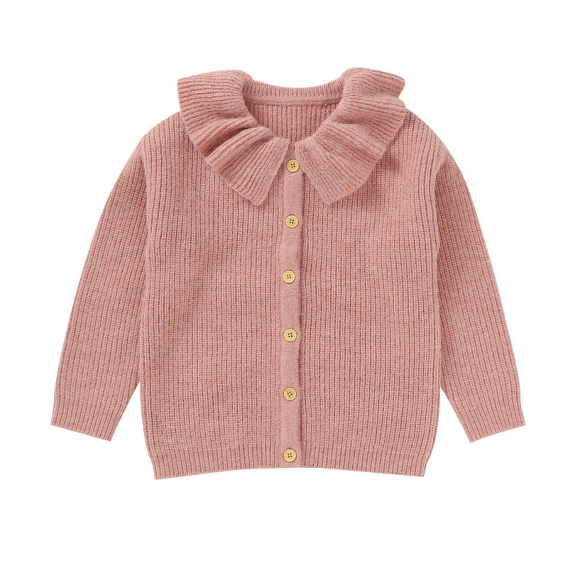 Spring Baby Girl Hollow Knitted Sweater Cardigans Summer Toddler Newborn Long Sleeves Jackets Children Knitted Coat Tops