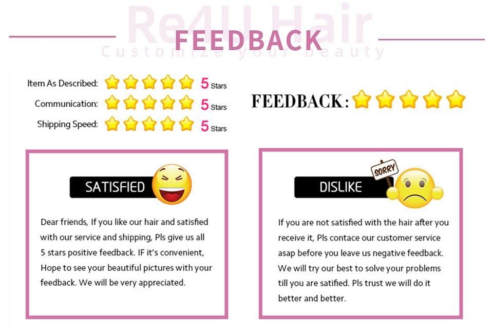 5 stars and feedback