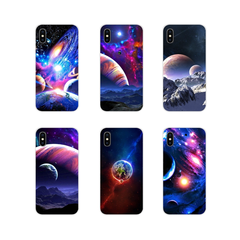 Outer Space For Huawei Y5 Y6 Y7 Y9 Prime Pro <font><b>GR3</b></font> GR5 <font><b>2017</b></font> 2018 2019 Y3II Y5II Y6II Accessories Phone Shell Covers image