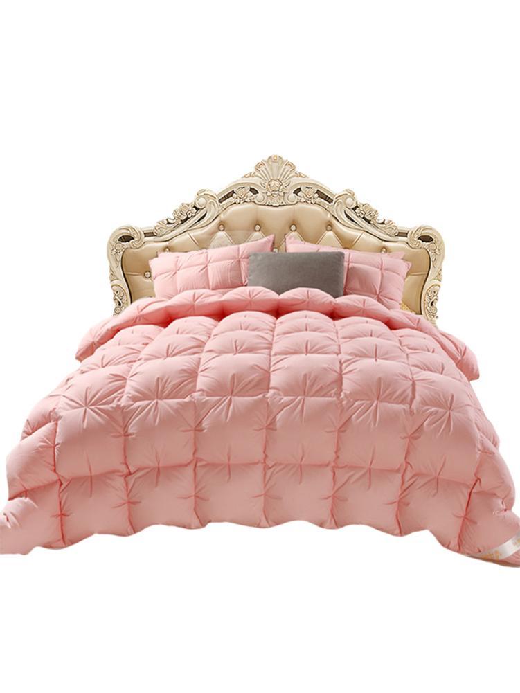 4d Luxury Goose Down Quilt Soft Duvet Quilt King Queen Winter Thick Blanket Full Size Comforter Home Hotel Goose Down Duvet