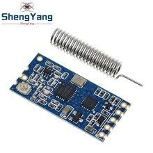 Shengyang 1 pçs 433mhz HC-12 si4463 módulo de porta serial sem fio 1000m substituir bluetooth novo