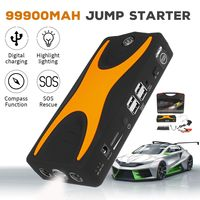 99900mAh 15V 4USB 900A Multifunction Car Jump Starter Portable Car Battery Booster Charger Booster Power Bank Starting Device