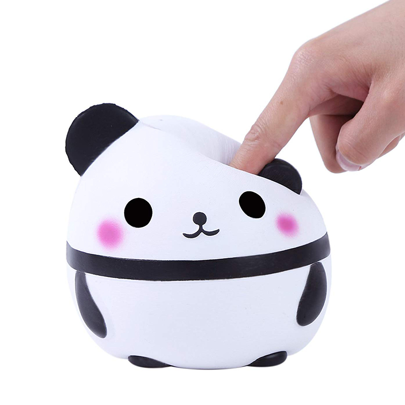 14CM Kawaii Panda Squishy Slow Rising Creative Animal Doll Soft Squeeze Toys For Children Funny Stress Reliever Toys For Adults