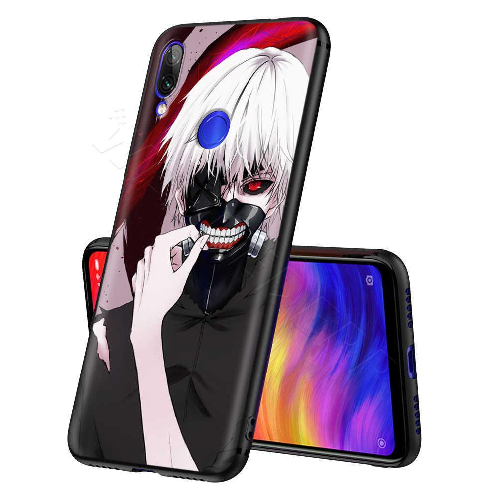 Tokyo Ghoul Anime per il Caso di Xiaomi Redmi Nota 8 MI 3 6 8 9 A1 A2 A3 8A 6X 9T CC9 Lite SE Pro Max F1 10