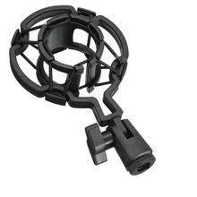LEORY универсальный пластиковый Микрофон Студийный микрофон Микрофон амортизатор держатель микрофон микрофонная подставка для большого диаметра конденсаторный микрофон зажим