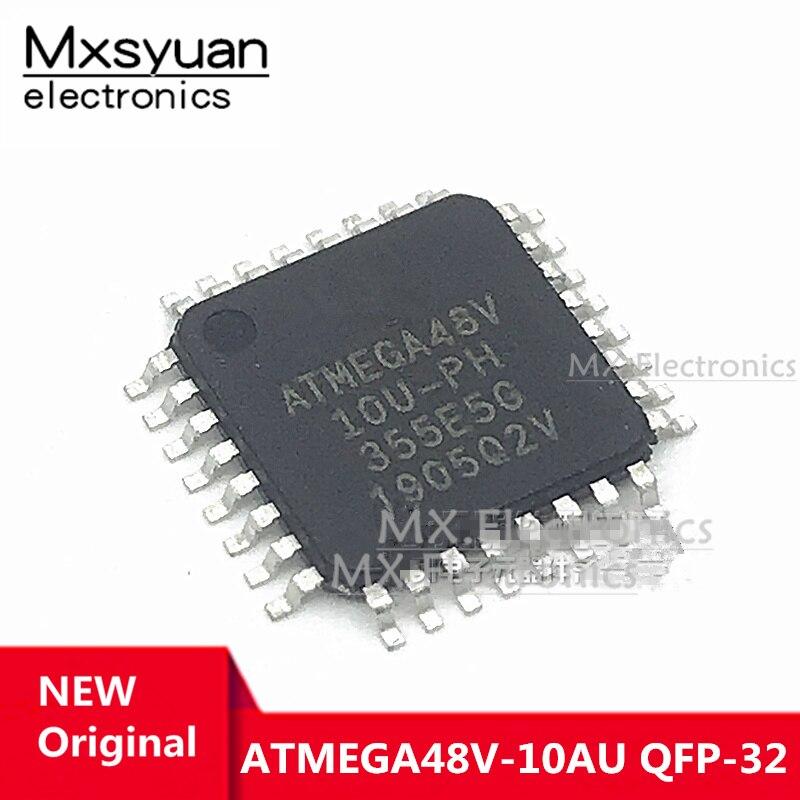 5 ~ 40 шт. ATMEGA48V-10AU ATMEGA48V ATMEGA48 QFP-32 оригинальный IC в наличии