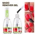 Профессиональный LULAA 15 мл Лак для ногтей взрыв волшебных жидкость для снятия лака, удаляемый замачиванием очиститель безворсовые салфетки ...