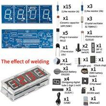 MHT-8 DIY KIT 1 INCH electronic clock digital tube LED display module MCU STC15F204EA DC 5V