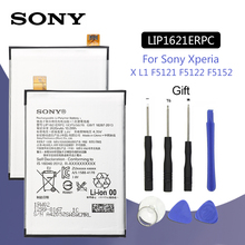 SONY Original LIP1621ERPC Phone Battery 2620mAh For Sony Xperia X L1 F5121 F5122 F5152 G3313 Replacement Batteria + Free Tools все цены