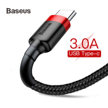 Baseus USB Type C Cable Fast Charge For Samsung Huawei redmi 3A 2A Mobile Phone Data Charging for Type-C Devices