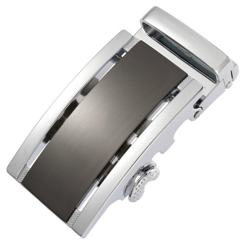 Men's Belt Head Belt Buckle Leisure Belt Head Business Accessories Automatic Buckle Width Black 3.5CM Luxury Fashion LY188102