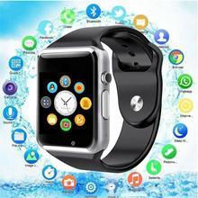 2019 A1 WristWatch Bluetooth Smart Watch Sport Pedometer With SIM Camera Smartwatch for Android PK iwo 8 DZ09 watch PK Z60 GT08 цена