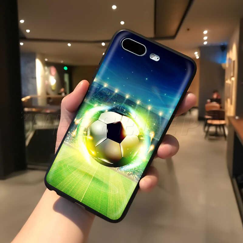 حافظة رياضية لكرة القدم من Webbedepp لهواتف أبل آيفون 11 برو XS Max XR X 8 7 6 6S Plus 5 5s SE