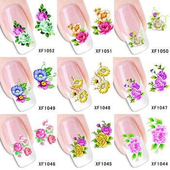 Women Beauty Pattern Nail Art Sticker DIY Decal Mixed Style Manicure Decor Mixed style nail art stickers, make your nail look image