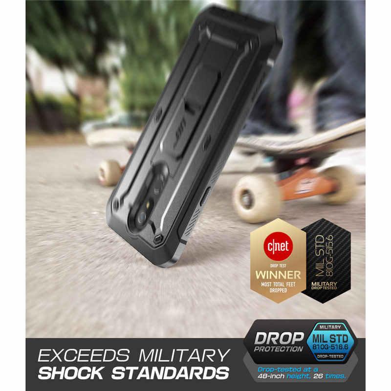 Untuk LG K40 Case (2019 Rilis) SUPCASE UB Pro Full-Body Kasar Sarung Case Penutup dengan Built-In Screen Protector & Kickstand