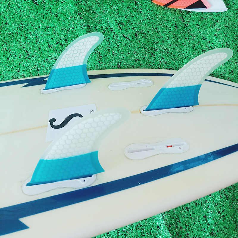 أداء لرغ ركوب الأمواج زعانف 3 قطعة مجموعة ل FCS II مربع الفيبرجلاس العسل M حجم أداء FCS زعانف 2 الساخن بيع تصفح زعنفة